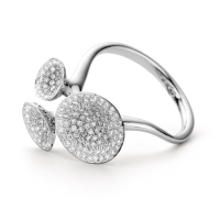 Diches witgoud met diamant